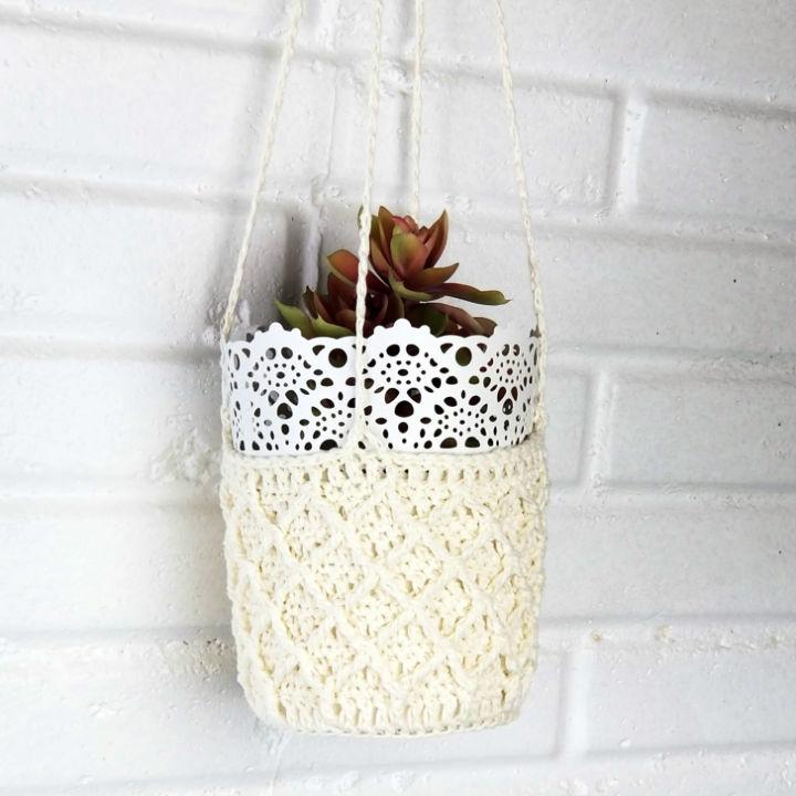 Patons Crochet Plant Hanger