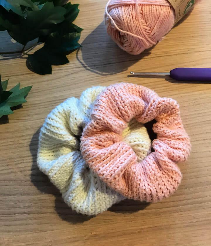 Peasy Scrunchies Crochet Pattern