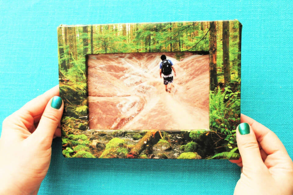 Picture Frame from Cardboard
