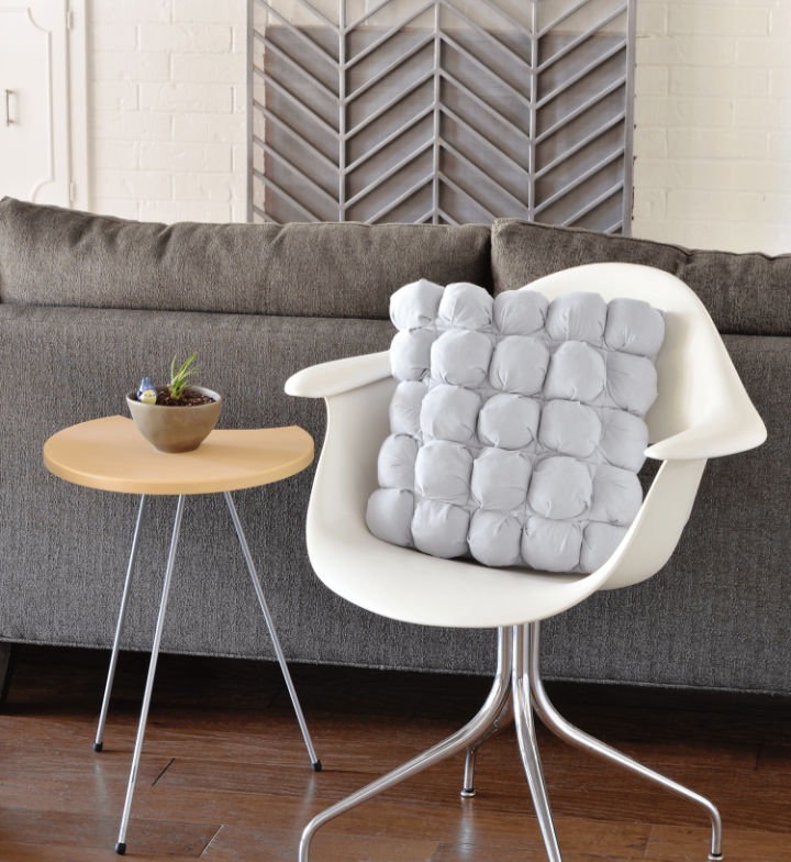 Puff Quilted Pillow Cover