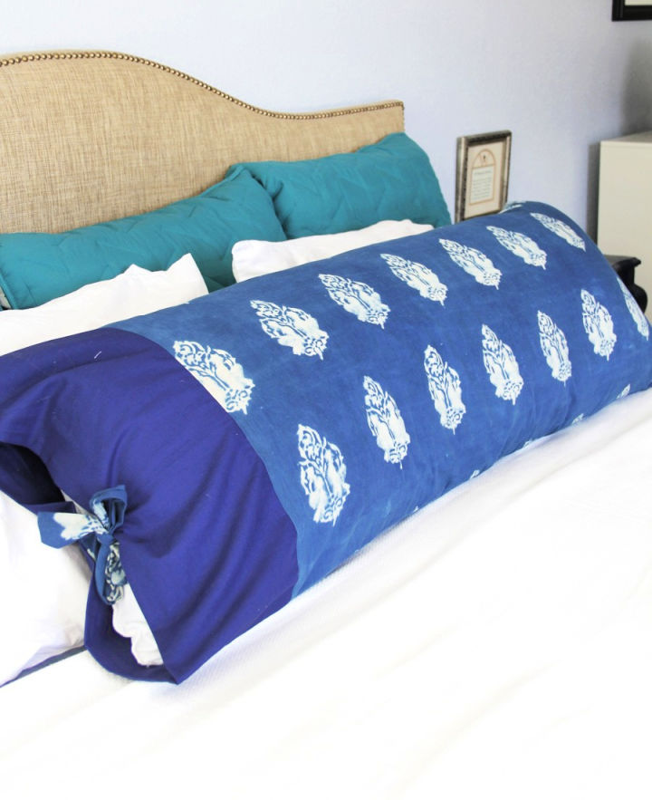 Sew a Body Pillow Cover