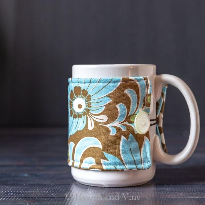 Sew a Mug Cozy