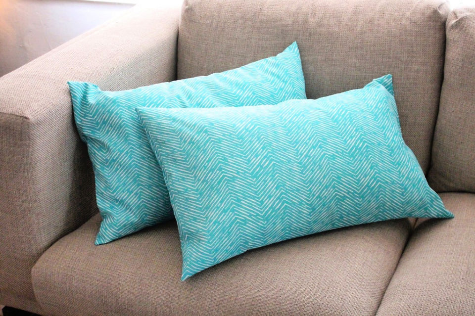 Sew an Envelope Pillow Cover