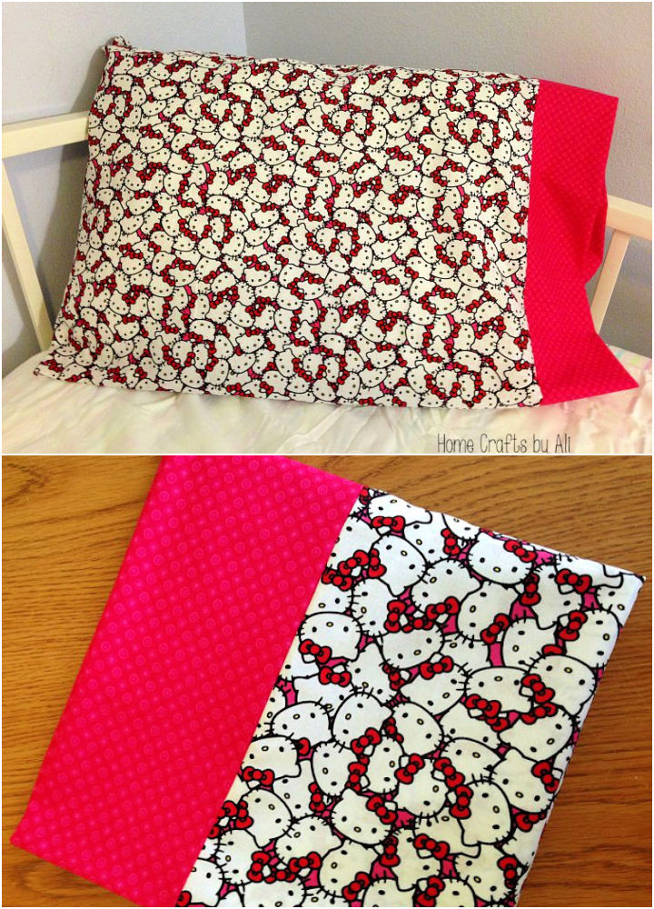 Sewing Pillow Case for Beginner
