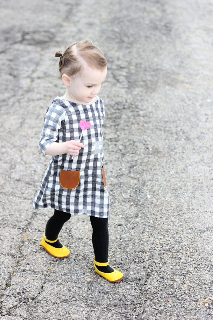 Shift Dress for 2 Year Old Baby Girl