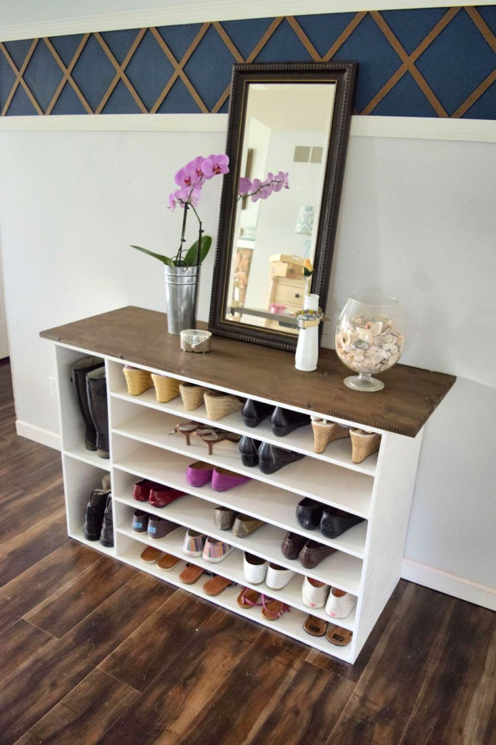Shoe Organizer and Rack for the Closet
