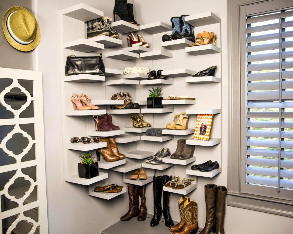 Shoe Storage Display Shelves