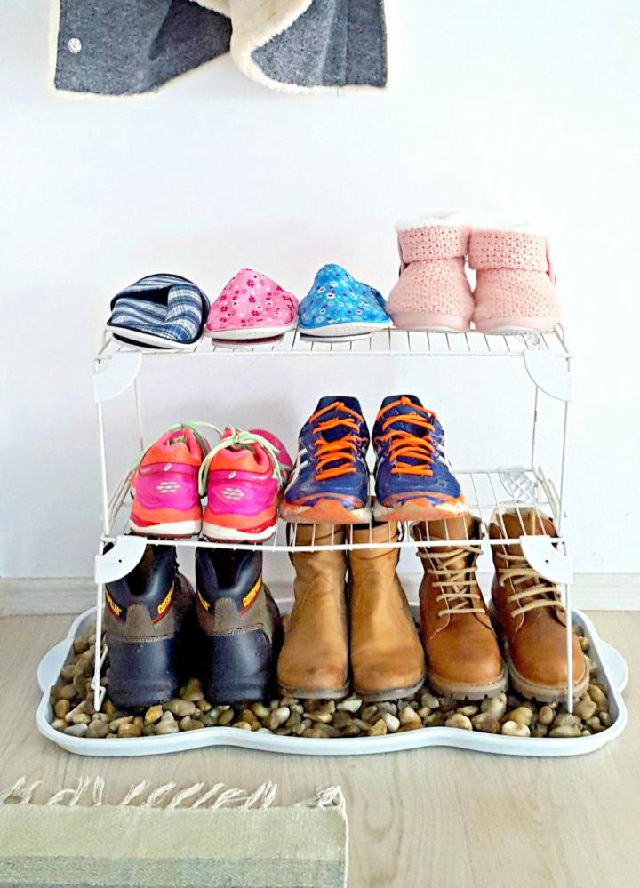 Shoe Storage for Front Door