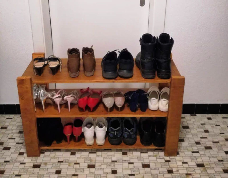 Small Shoe Rack for Under 35