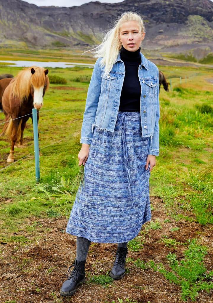 Solveig Skirt Crochet Pattern