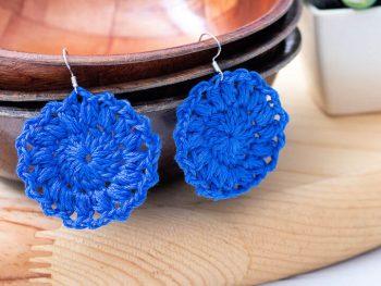 Sunburst Earrings Crochet Pattern