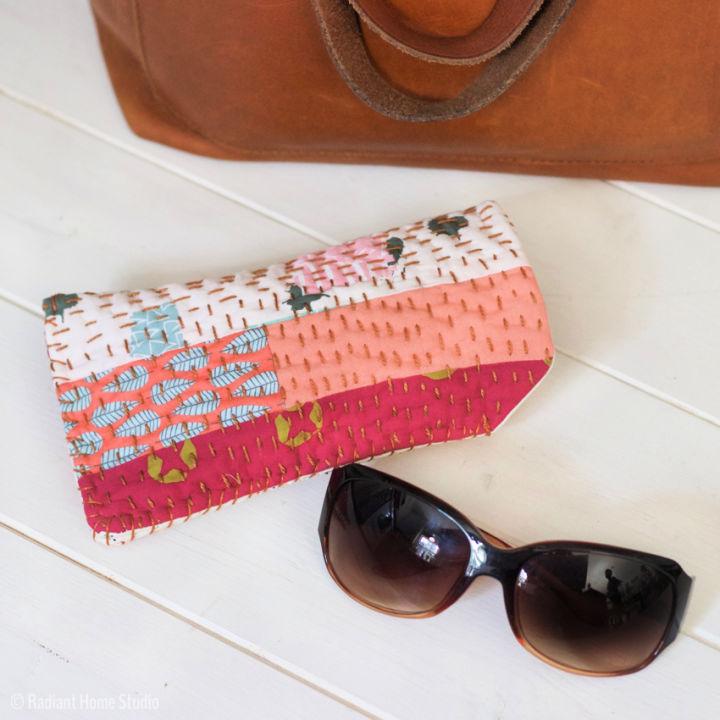 Sunglasses Case with Scraps