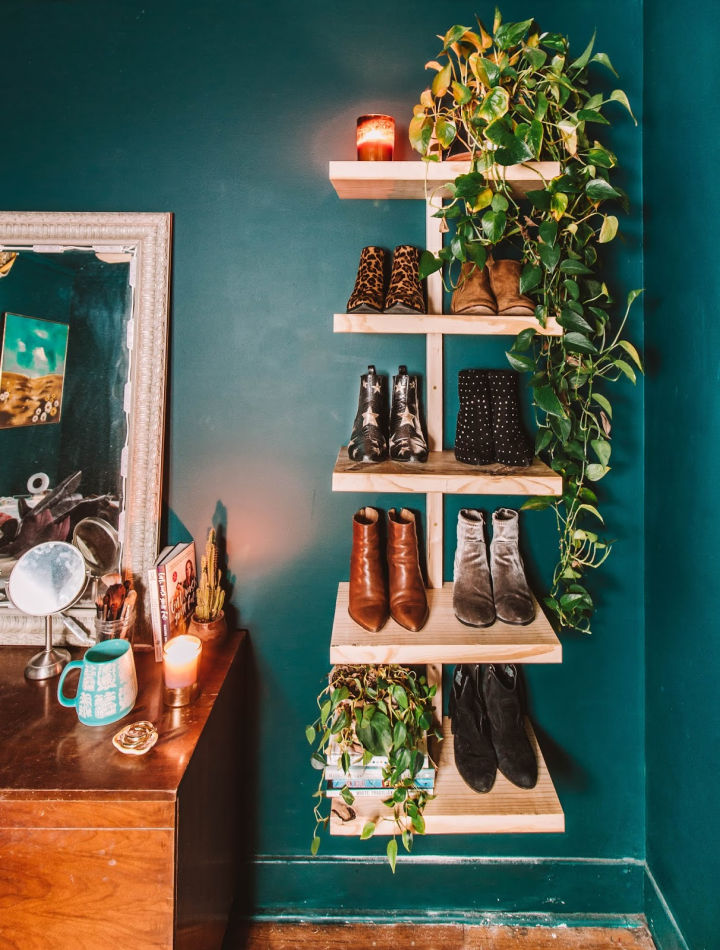 Urban Outfitter Wood Shelf for Shoes