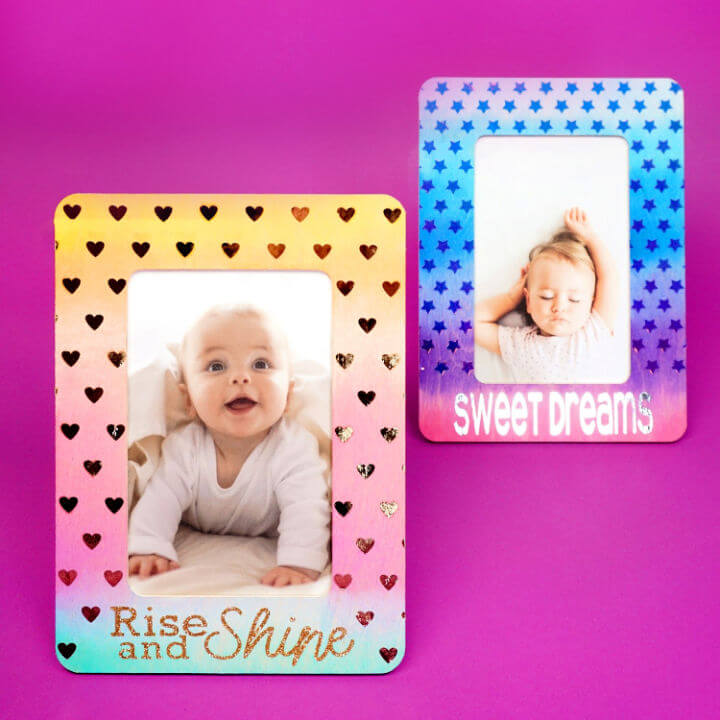 Watercolor Picture Frames