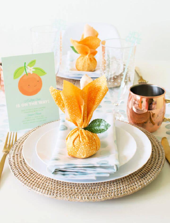 Citrus Baby Shower Favor
