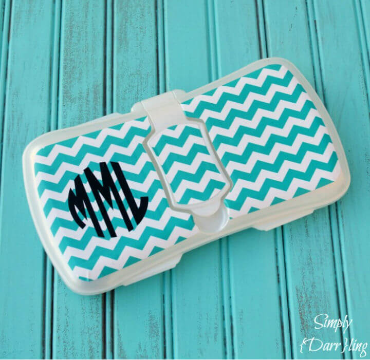 DIY Personalized Wipes Case