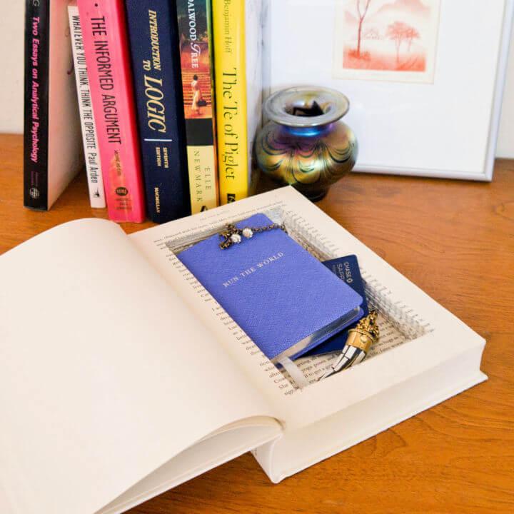 DIY Stash Book For All Your Secret Stuff