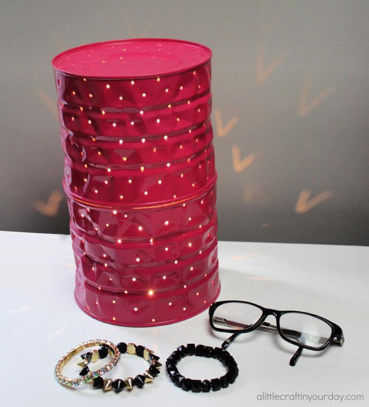 DIY Tin Can Lamp