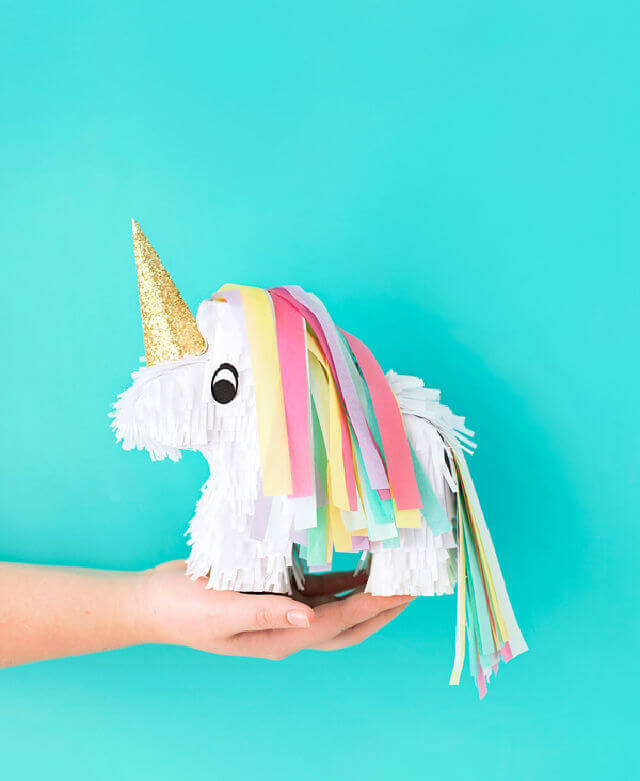 DIY Unicorn Pinatas