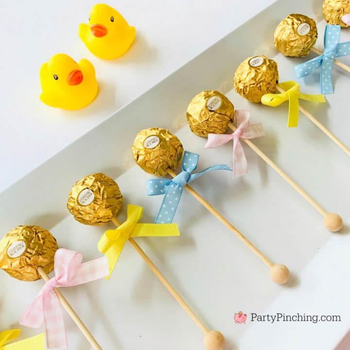 Ferrero Rocher Baby Rattles