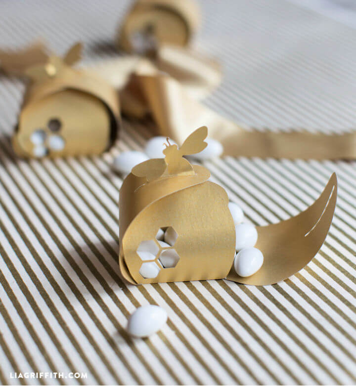 Honey Bee Party Favor Boxes