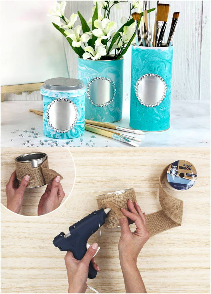 How to Make a Tin Organizers