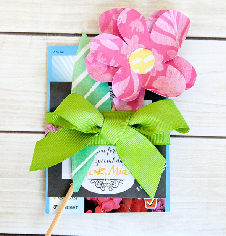 Seed Packet Baby Shower Favor