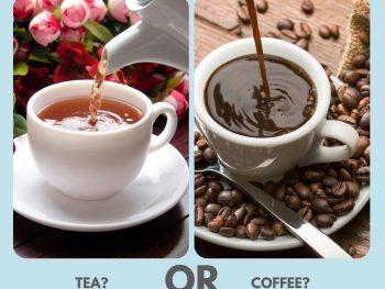 A Constant Battle Tea or Coffee