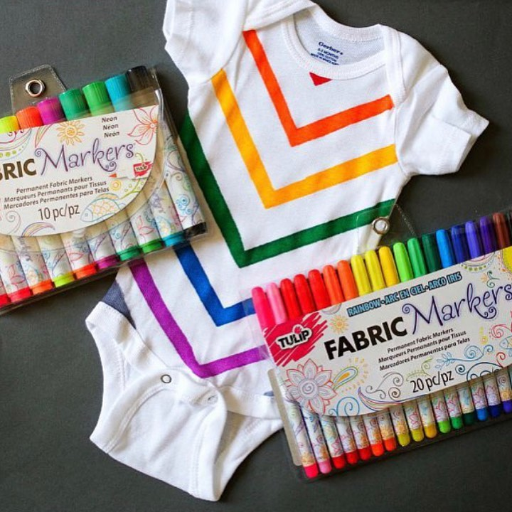 How To Use Fabric Markers