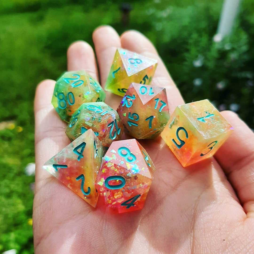 How to Make Your Own Resin Dice