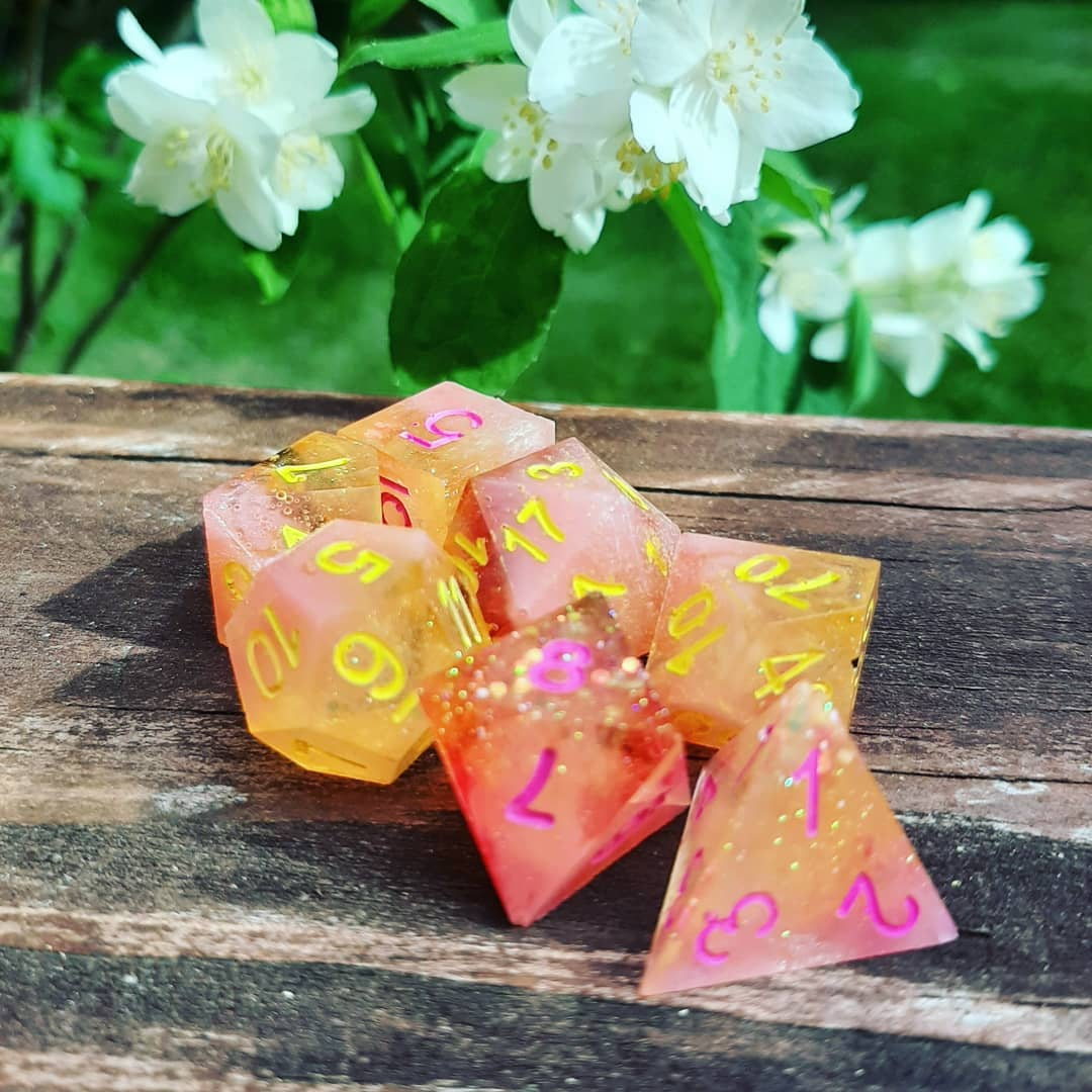 Make Your Own Resin Dice