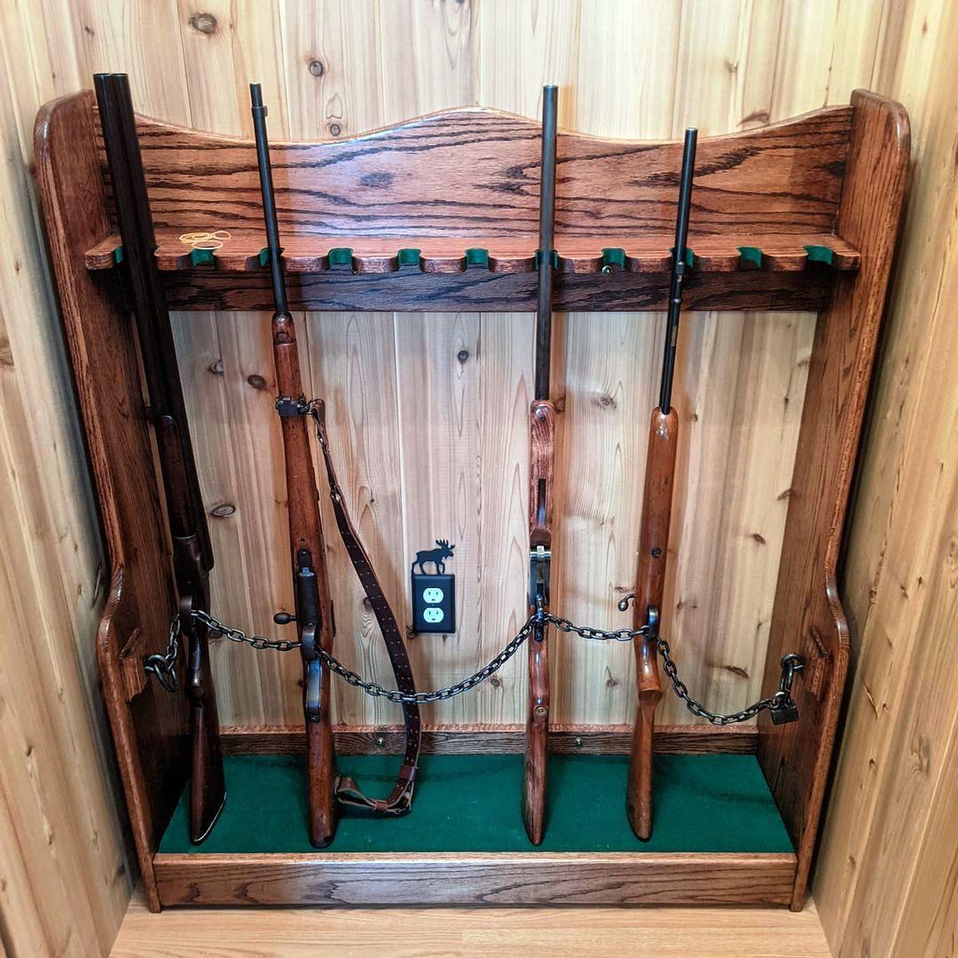 How to Build a Vertical Gun Rack