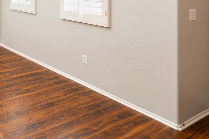 how to clean wood baseboards